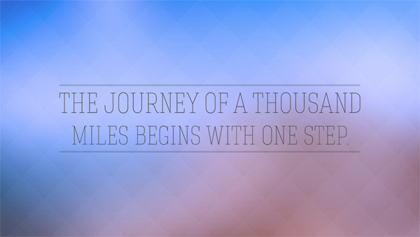 Essay a journey