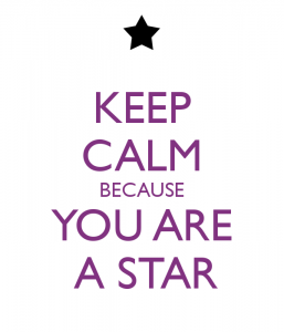 keep-calm-because-you-are-a-star