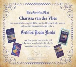 realm reader certificate klein