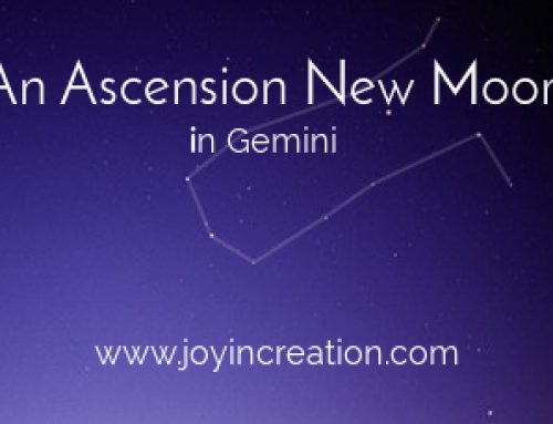 An Ascension New Moon in Gemini
