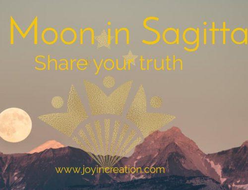 Full Moon in Sagittarius – Share your truth