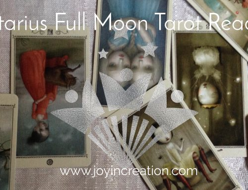 Sagittarius Full Moon Tarot reading