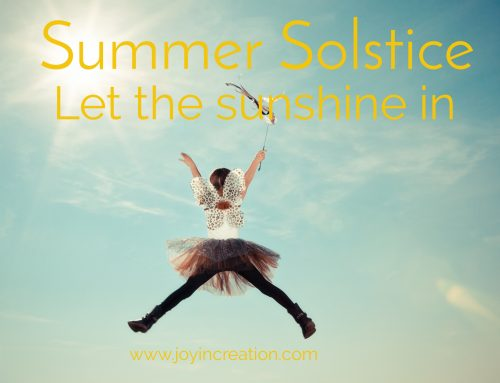 Summer Solstice – Let the sunshine in