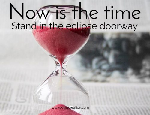 Now is the time – stand in the eclipse doorway