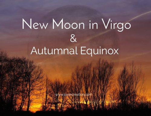 New Moon in Virgo & Autumnal Equinox