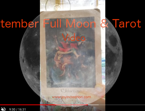 September Full Moon & Tarot Time