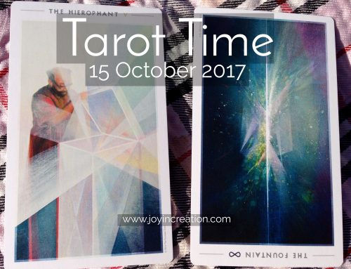 Tarot Time (video) – 15 October 2017